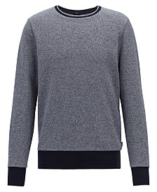 BOSS Men's Skubic 39 Slim-Fit Cotton Sweater