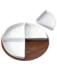 The Cellar Acacia Wood Lazy Susan, Created for Macy's