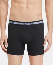Calvin Klein Men's 3-Pk. Cool Stretch Boxer Briefs