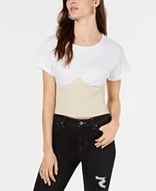 Kendall + Kylie Corset T-Shirt