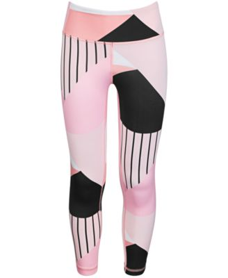 Big Girls Colorblocked High-Rise Ankle Leggings, Created for Macy's