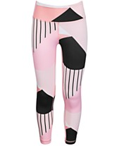6cef13fb1c69c Ideology Big Girls Colorblocked High-Rise Ankle Leggings, Created for Macy's