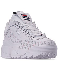 Women's Disruptor II Multiflag Casual Athletic Sneakers from Finish Line