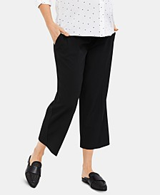 Maternity Cropped Dress Pants