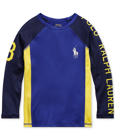 Polo Ralph Lauren Toddler Boys Graphic Rash Guard
