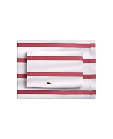 Lacoste Archive California King  Sheet Set