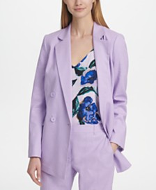 DKNY Double-Breasted Blazer