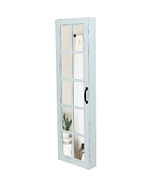 FirsTime & Co.® White Window Jewelry Armoire