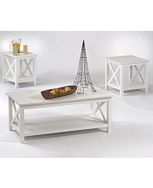 Seascape I 3 Pack Lift Top Cocktail, End and Chairside Table