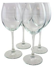 Pasabahce Enoteca 4 Piece 15.1 Ounce White Wine Glass Set