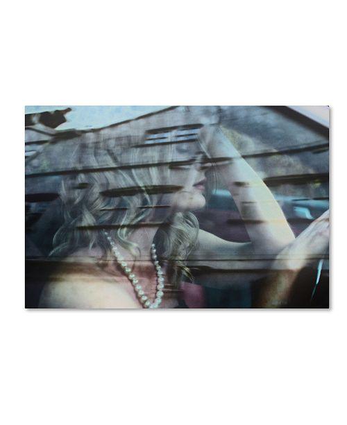 "Trademark Global Colin Dixon 'Gloomy Drive Ahead' Canvas Art - 47"" x 30"" x 2"""