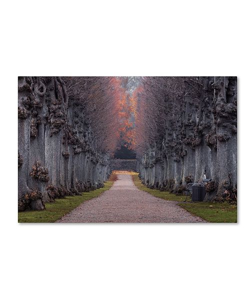 """Trademark Global Stevan Tontich 'Nothing Gold Can Stay' Canvas Art - 32"""" x 22"""" x 2"""""""