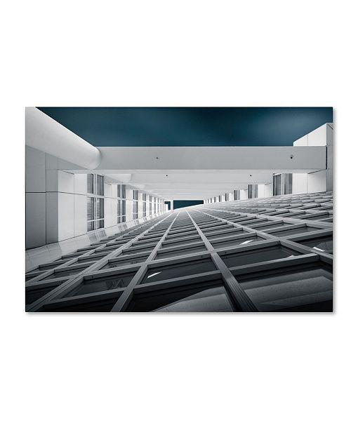 "Trademark Global Michiel Hageman 'Corridors Of Power' Canvas Art - 19"" x 12"" x 2"""