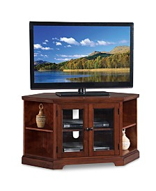 "Leick Home Westwood 46"" Corner TV Stand with Bookcases"