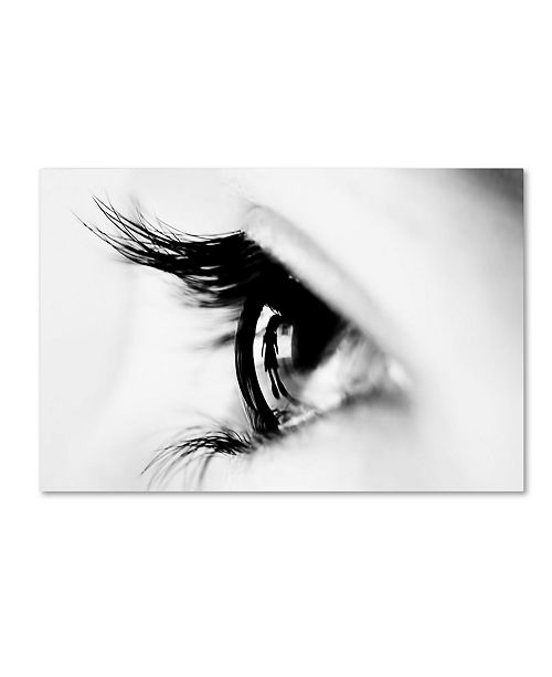 "Trademark Global Naufal 'Following You' Canvas Art - 19"" x 12"" x 2"""