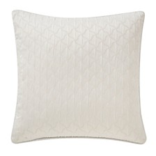 """Waterford Celine Dove 18"""" X 18"""" Square Collection Decorative Pillow"""