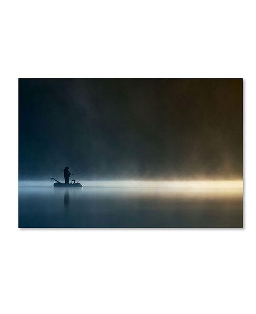 """Trademark Global Izabela Laszewska Mitrega 'Burn My Shadow' Canvas Art - 24"""" x 16"""" x 2"""""""