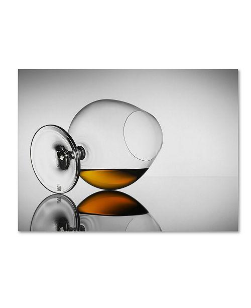 "Trademark Global Jackson Carvalho 'Brandy Taste' Canvas Art - 47"" x 35"" x 2"""