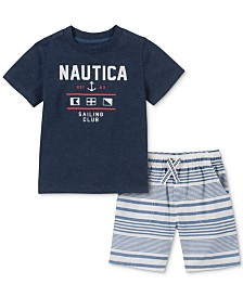 Nautica Baby Boys 2-Pc. T-Shirt & Shorts Set
