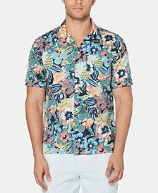 Original Penguin Men's Floral Shirt