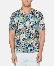 Original Penguin Men's Floral Shirt