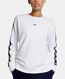 Nike Sportswear Cotton Logo Sweatshirt