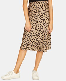 Sanctuary Everyday Animal Printed Midi Skirt