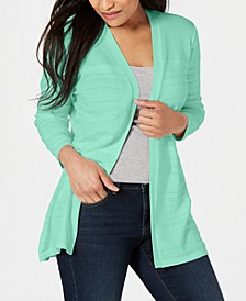 Pointelle-Knit Cardigan, Created for Macy's