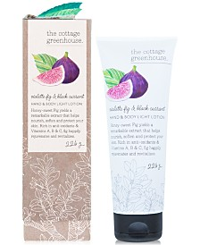 The Cottage Greenhouse Violette Fig & Black Currant Hand & Body Lotion, 8-oz.