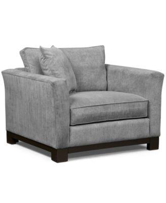 Kenton Fabric Living Room Chair Custom Colors Created for