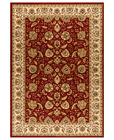 "CLOSEOUT! Kenneth Mink Area Rug, Warwick Kashan Crimson/Wheat 2'3"" x 7'7"" Runner Rug"