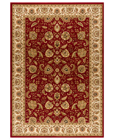 Kenneth Mink Rugs Warwick Kashan Crimson Wheat