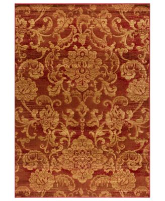 "CLOSEOUT! Area Rug, Northport LON-101 Red 3'3"" x 5'3"""