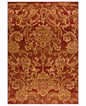 CLOSEOUT! Kenneth Mink Rugs, Northport LON-101 Red
