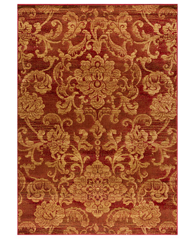 CLOSEOUT! Kenneth Mink Area Rug, Northport LON-101 Red 5'3