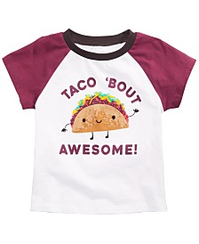 First Impressions Baby Boys Cotton Taco T-Shirt, Created for Macy's