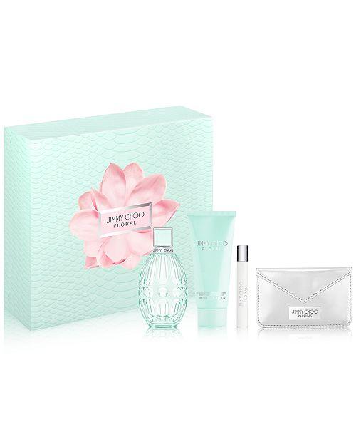 Jimmy Choo Floral Eau de Toilette 4-pc Gift Set
