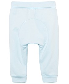 Baby Boys Circle Cotton Yoga Pants, Created for Macy's