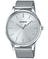 abe7f2c7176d Casio Women s Stainless Steel Mesh Bracelet Watch 38mm