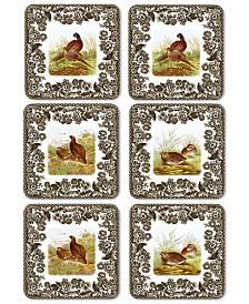 Spode Coasters, Set of 6 Woodland
