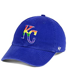 Kansas City Royals Pride CLEAN UP Strapback Cap