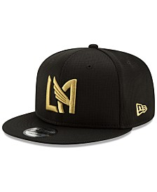 New Era Los Angeles Football Club On Field 9FIFTY Snapback Cap