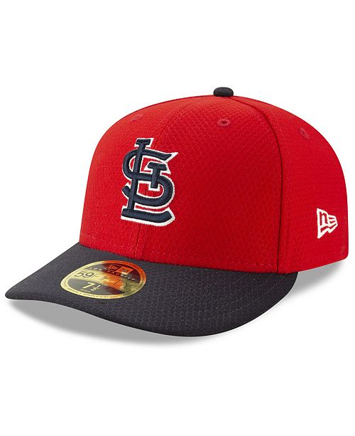 New Era St. Louis Cardinals Batting Practice Low Profile 59FIFTY-FITTED Cap