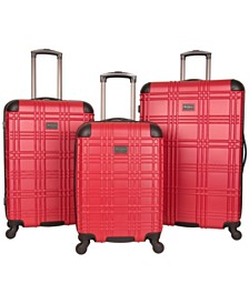 Ben Sherman Nottingham 3-Piece Spinner Luggage Set