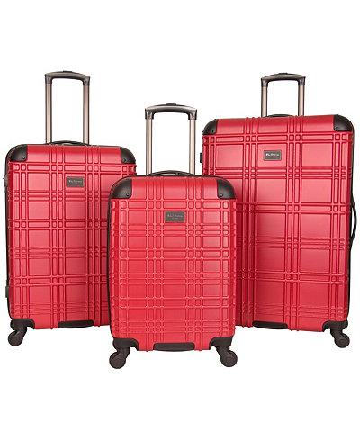 Ben Sherman Nottingham 3-Piece Spinner Luggage Set