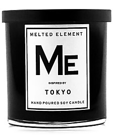 Melted Element Tokyo Soy Candle, 11-oz.