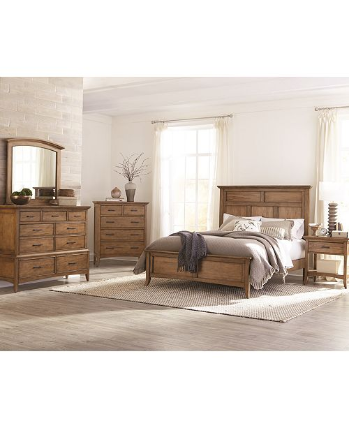 Furniture Lockeland Solid Wood Bedroom Collection