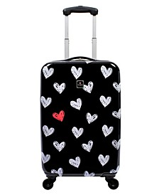 "Gallery 20"" Hardside Carry-On Spinner Suitcase"
