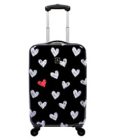 "Tag Gallery 20"" Hardside Carry-On Spinner Suitcase"