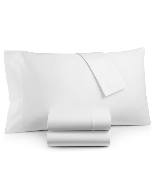 Lucky Brand Homegrown Cotton 300-Thread Count 4-Pc. Queen Sheet Set, Created for Macy's